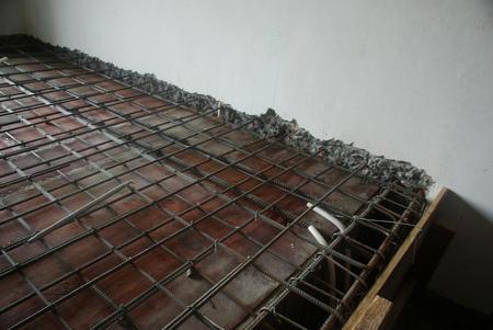 阁楼增设混凝土楼板